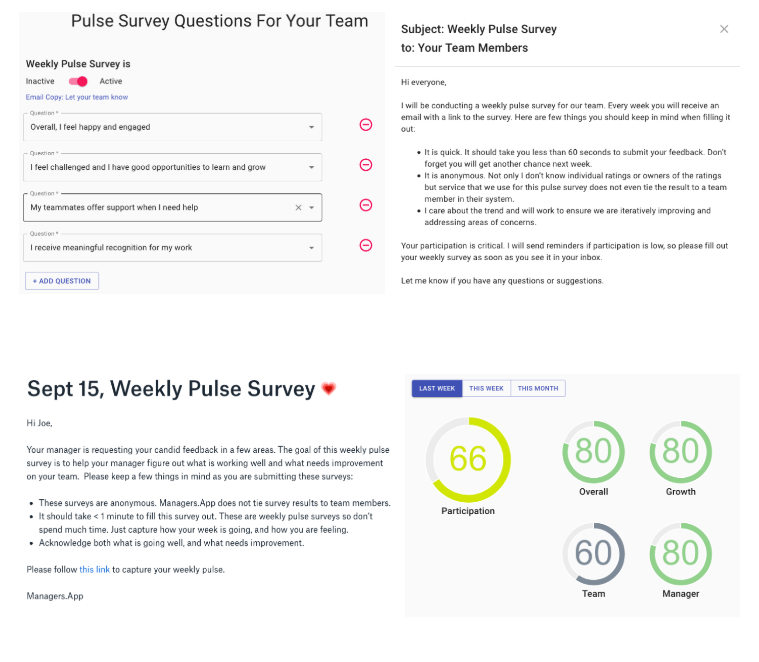 Weekly Team Pulse ❤️ Survey Results