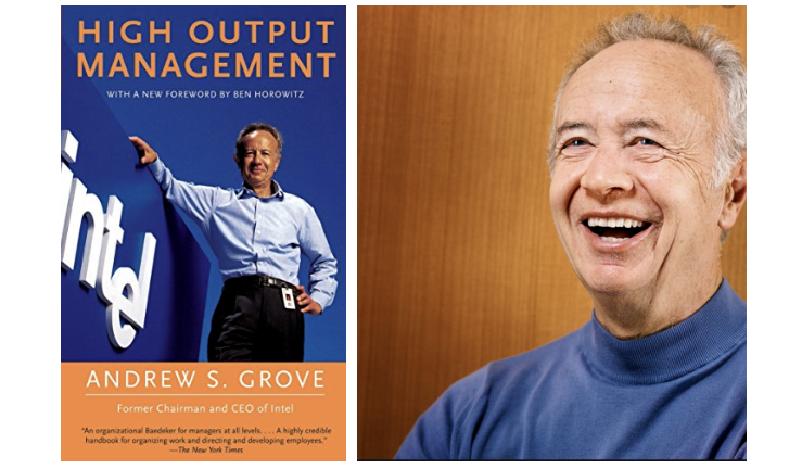 Book Summary of High Output Management by Andrew Grove