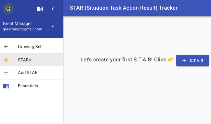 Tracking Important Work Situation Using STAR Method